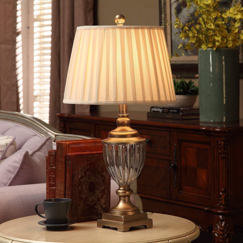 U'Artlines Lot de 2 Lampe de table, chevet touch moderne
