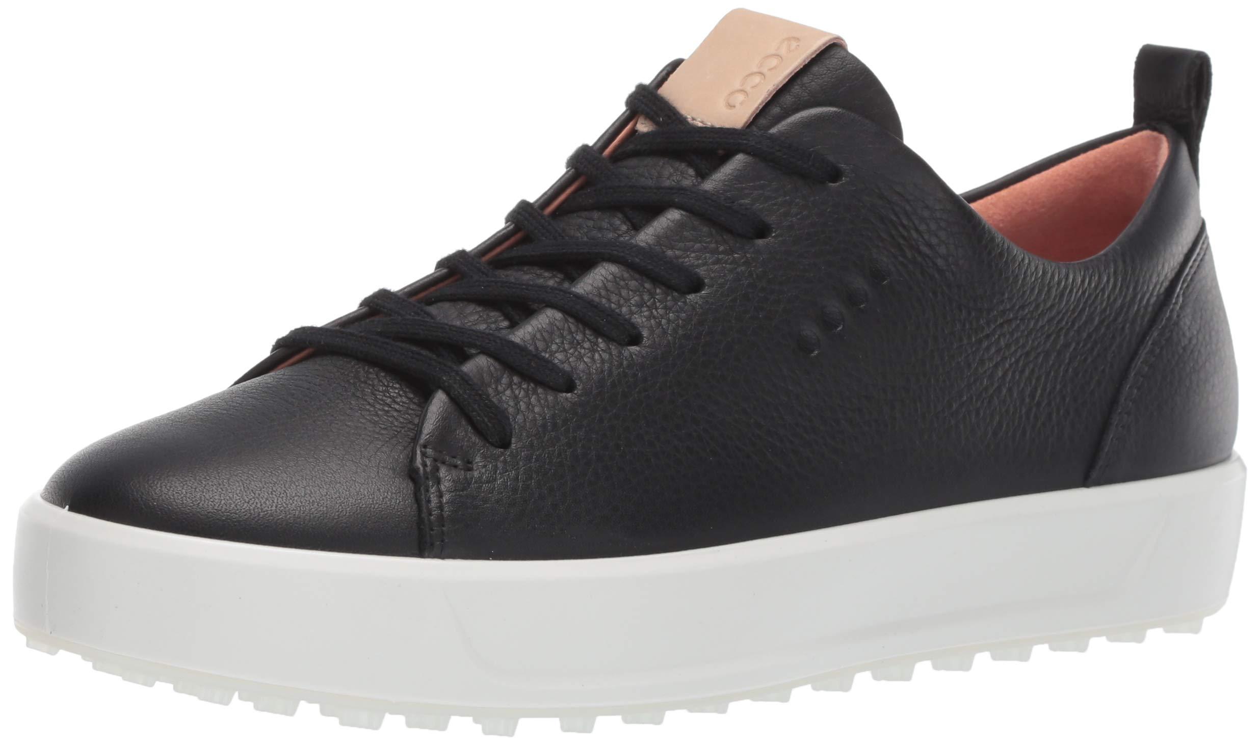 ECCO Women's Soft Low Hydromax Golf Shoe Black 36 M EU (5-5.5 US)