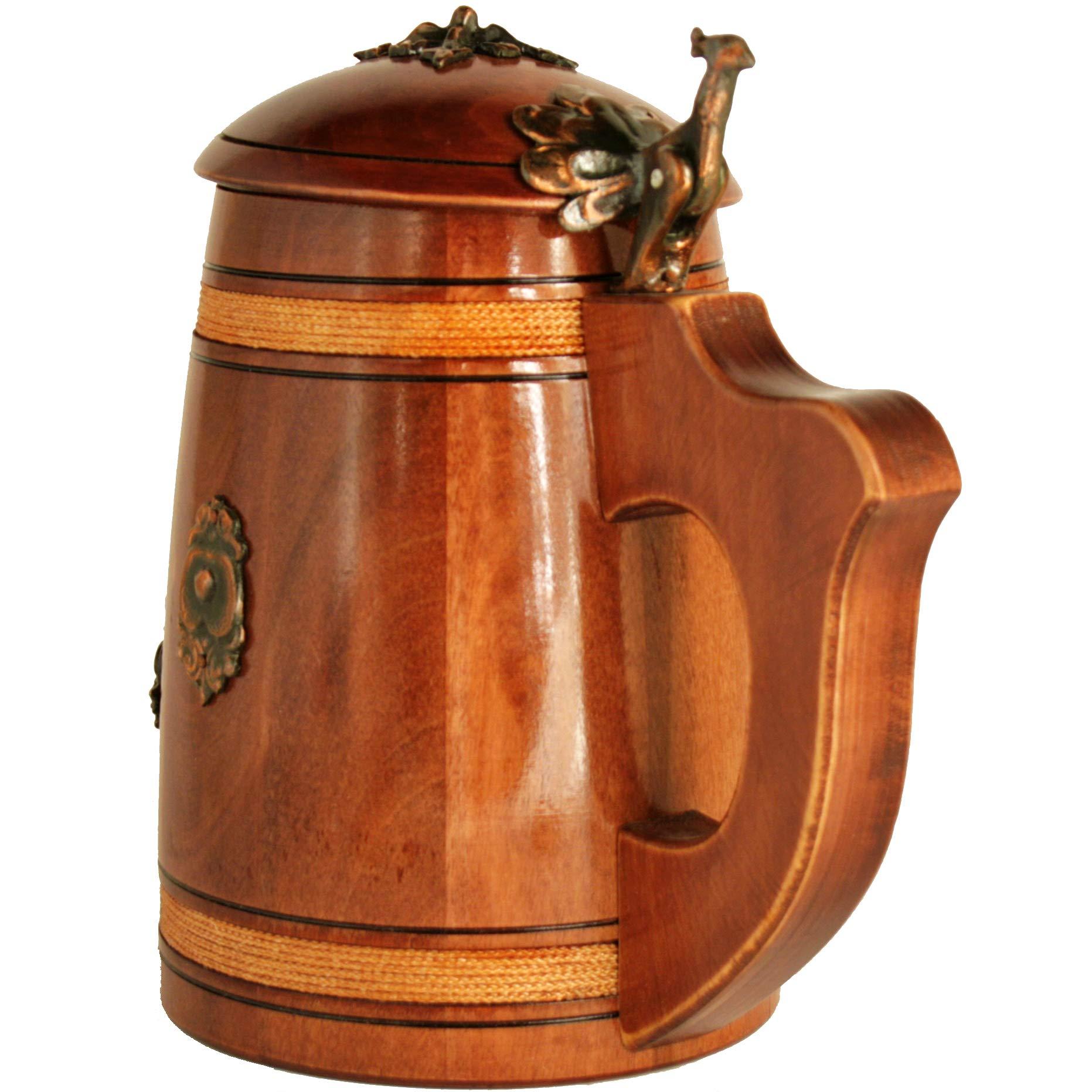 Oak Barrel Mug Half Liter In 2019 Wish List Wood Mug Wooden