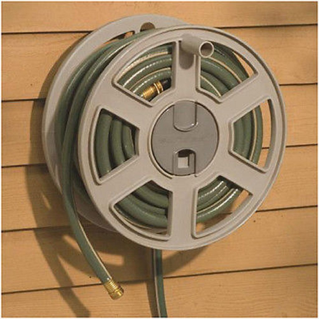 Amazon.com: Suncast 100\' Side Winder Hose Reel: Garden & Outdoor