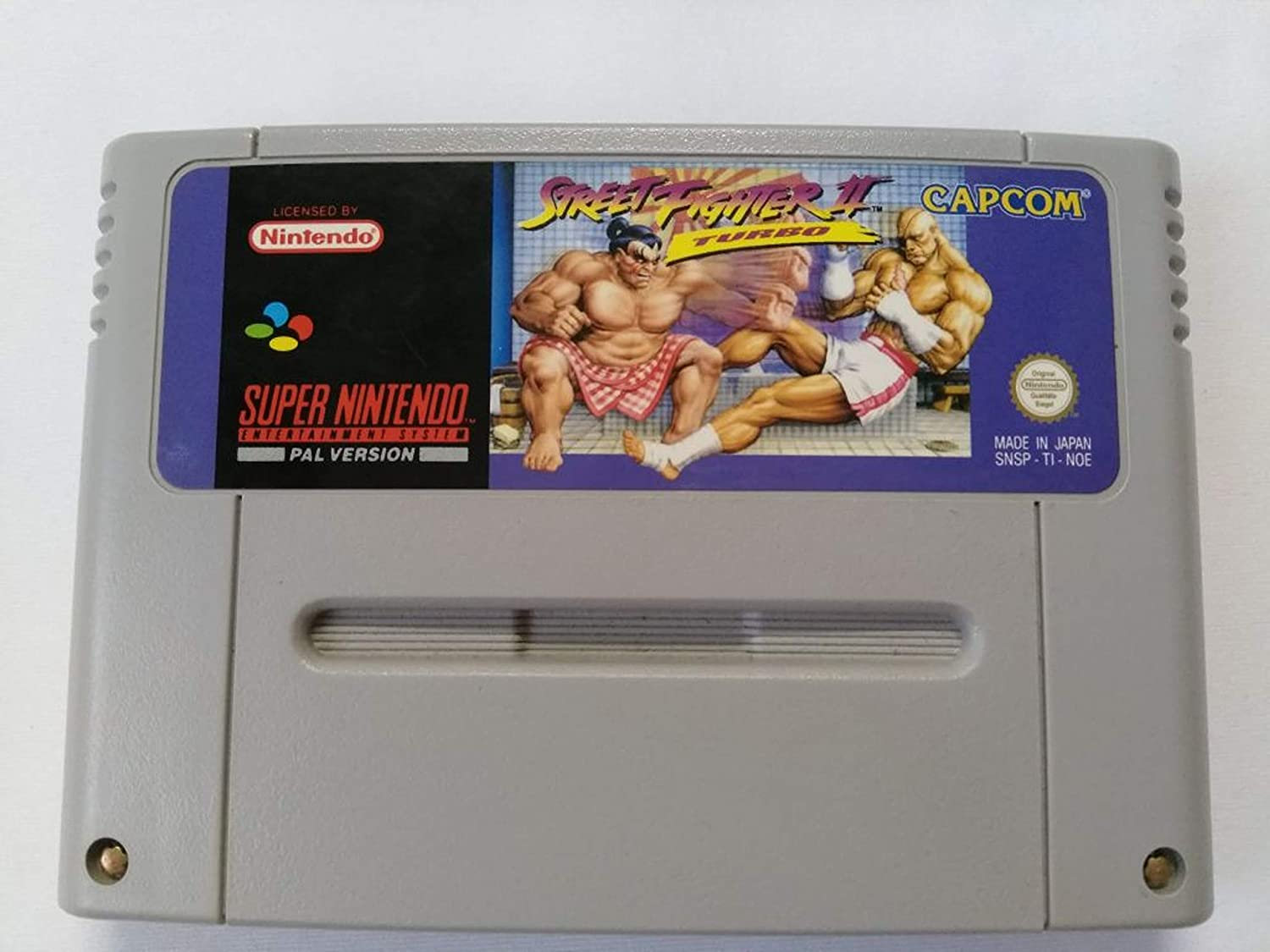 Amazon Com Street Fighter Ii Turbo Hyper Fighting Video Games