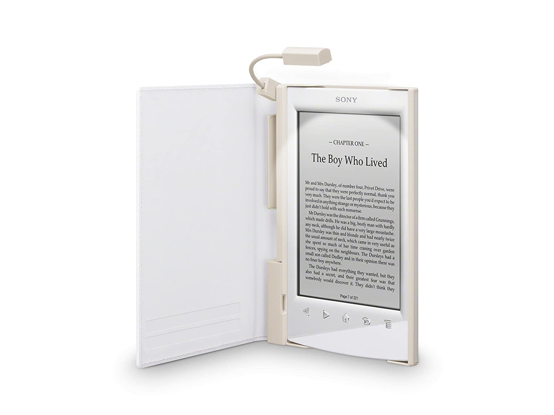 Sony PRSA-CL22 - Tapa protectora blanca con luz para lector de ...