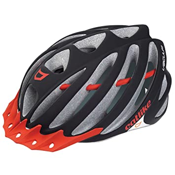 Catlike Vacuum Casco, Black Matte/Red