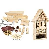 PEARL Insektenhaus: Insektenhotel-Bausatz, Nistkasten und Schutz für Nützlinge (Insektenhaus Bausatz)