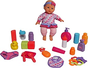 """DREAM COLLECTION 12"""" Baby Doll Care Set"""