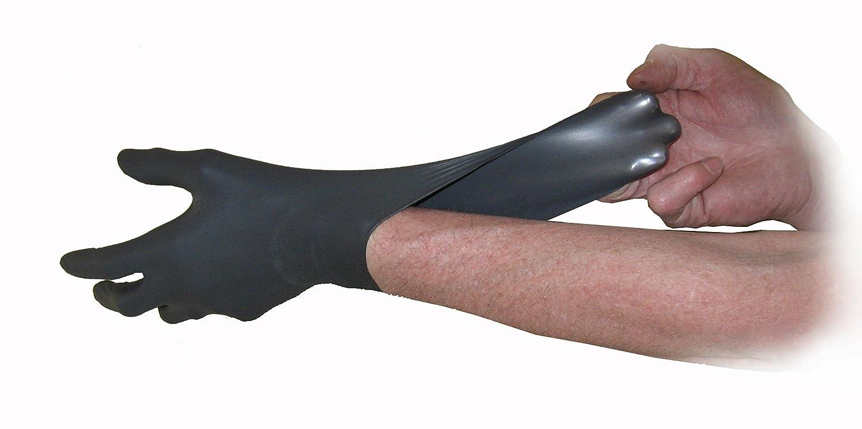 Nitrilkautschuk 180er-Box puderfrei Schwarz Gr/ö/ße XL SemperGuard Handschuhe
