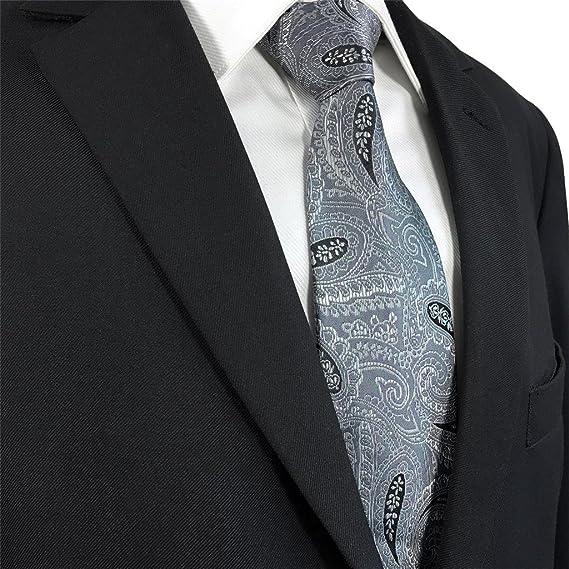 shlax wing Traje de negocios Cachemir Corbatas Para Hombre Gris Ties Corbata  Flaca Extra Largo Classic  Amazon.es  Ropa y accesorios 40704af295a