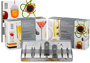 Molecule-R - Molecular Gastronomy Set - Recipes, Tools, Additives and Recipe Bookto Learn Molecular Gastronomy at Home