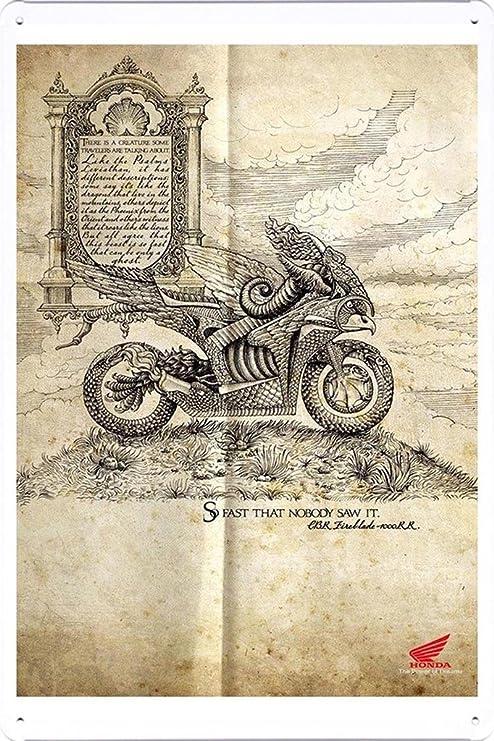 """Amazon.com: Honda Motorcycles: Europea Mito 7.8""""x11 ..."""
