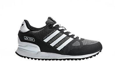 hot sale online 244e0 eb693 adidas Originals ZX 750 WV, Core Black-Footwear White-Utility Black, 13   Amazon.it  Scarpe e borse