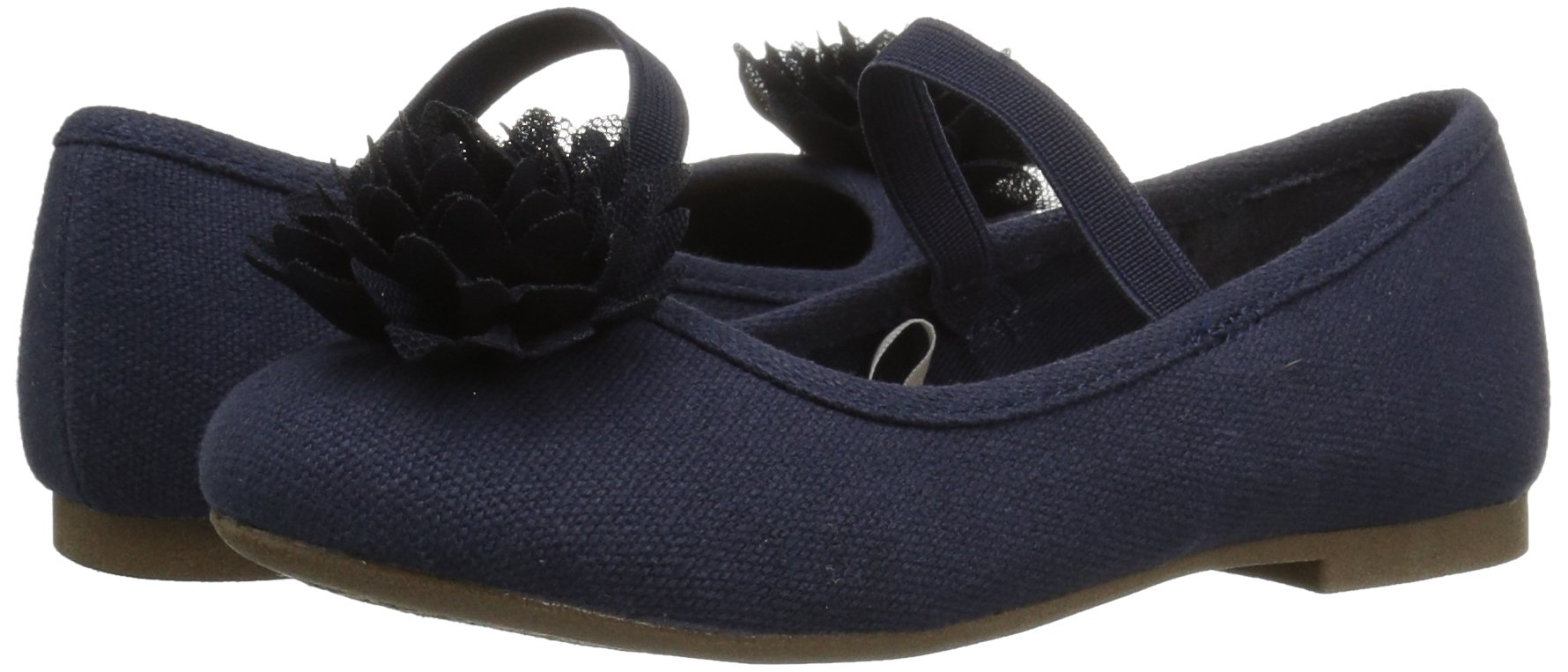 The Children's Place Girls' E TG Uni Kayla Uniform Dress Shoe, Navy, TDDLR 5 Toddler US Toddler by The Children's Place (Image #5)
