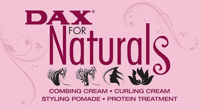 Dax for Naturals Tratamiento de proteínas con aceite de semillas de brócoli y aceite de ricino jamaiquino 7.5 oz: Amazon.es: Belleza