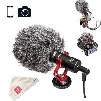 Amazon.com: Boya BY-MM1 - Micrófono de vídeo para iPhone ...