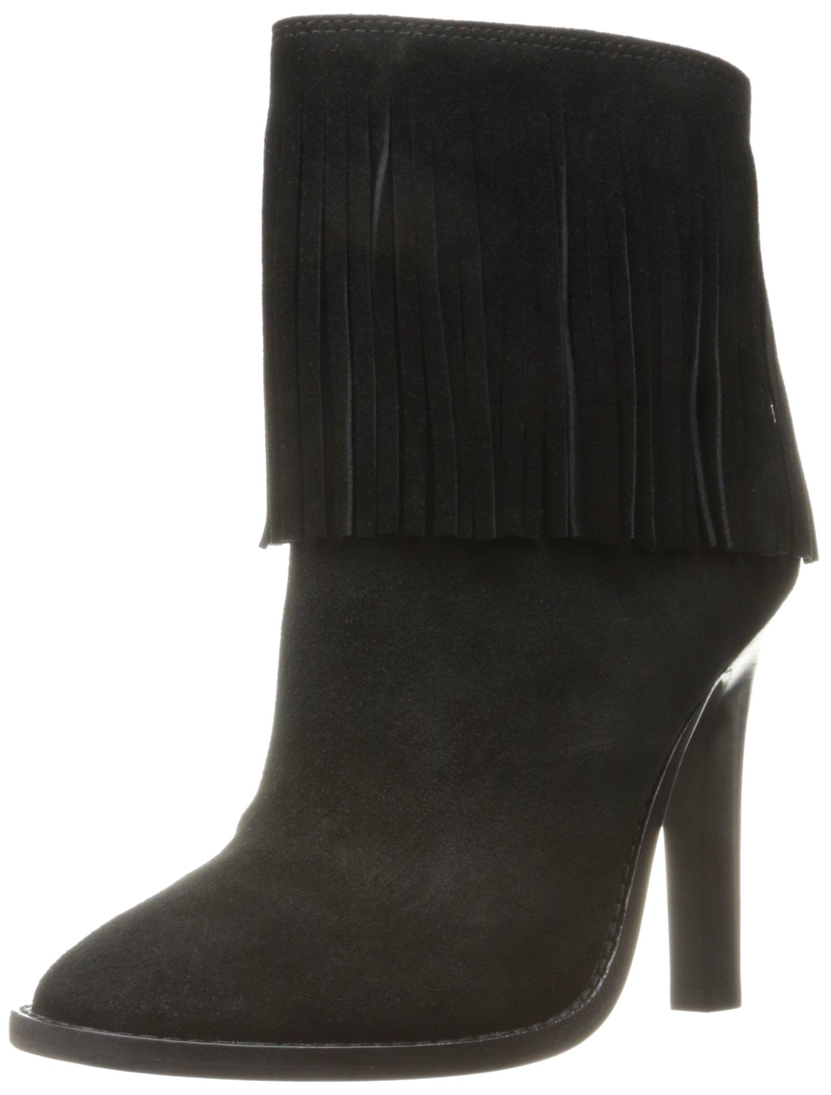Joie Women's Cambrie Boot, Black-Suede, 36 EU/6 M US
