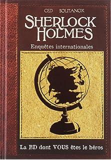 T01 - sherlock holmes la BD dont vous étés le heros La BD dont vous êtes le héros: Amazon.es: Ced: Libros en idiomas extranjeros