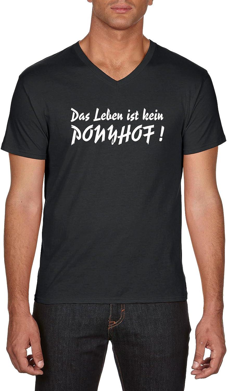 Touchlines Das Leben Ist Kein Ponyhof T-Shirt Homme