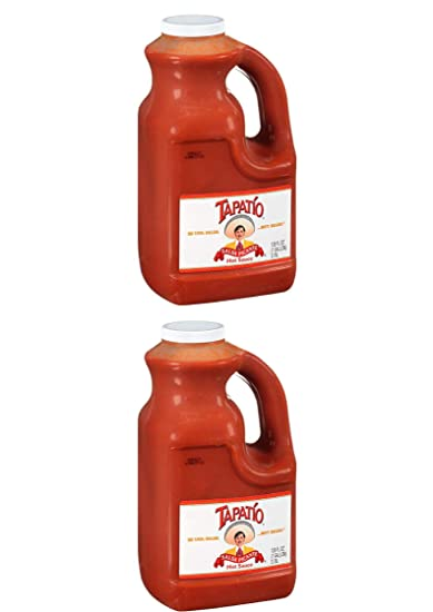 Tapatio Salsa Picante Hot Sauce, 128 Ounce (2 Pack)