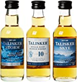 Talisker Miniaturen Probier-Set Single Malt Whisky (3 x 0.05 l)