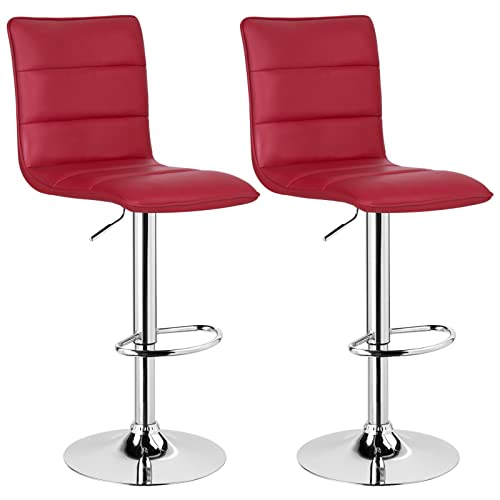 Red Breakfast Bar Stools: Amazon.co.uk