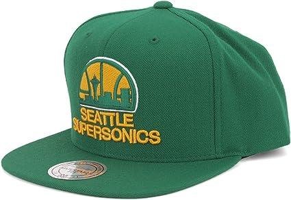 Mitchell /& Ness Seattle Supersonics Snapback Hat