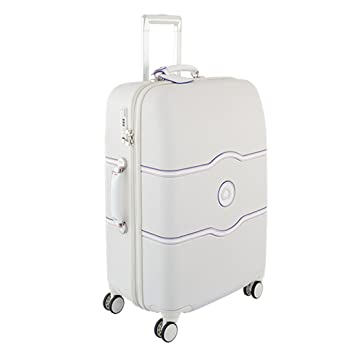 cd65803d54 Delsey Chatelet Hard+ M Valise 4 roues blanc: Amazon.fr: Bagages