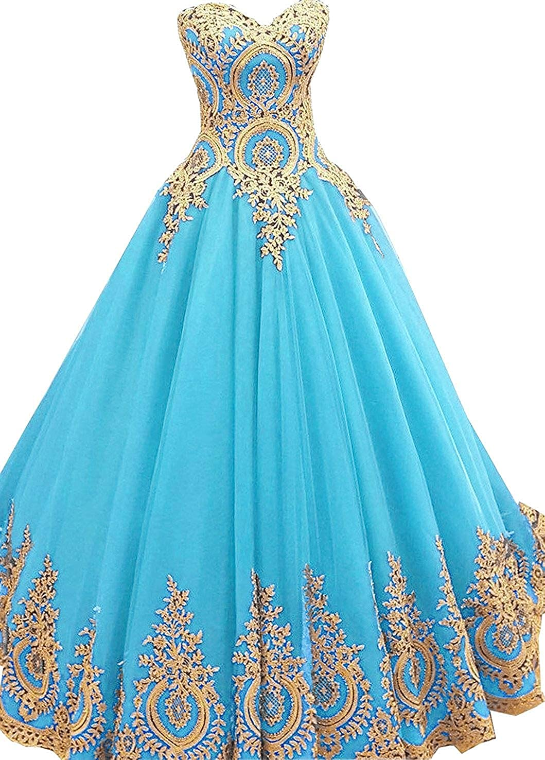 ChiChiDress Lace Prom Dress 2019 Off The Shoulder Quinceanera Ball Gown Party CC007