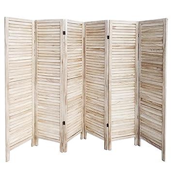 Amazon De Yahee 6 Tlg Paravent Raumteiler Trennwand Spanische Wand