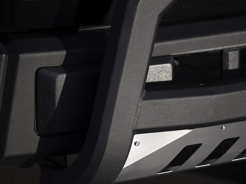 Matte Black W//Aluminum Skid Plate Armordillo USA 7173989 AR Series Bull Bar Fits 2002-2009 GMC Envoy//Envoy XL