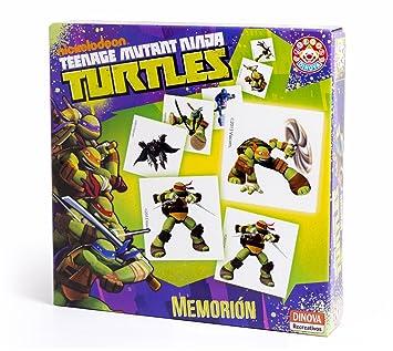 Nickelodeon - Tortugas Ninja, memorión (Dinova D0560001 ...