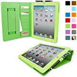 iPad 2 Exekutive Hülle (Grün), Snugg - Smart Case mit lebenslanger Garantie + Sleep / Wake Funktion
