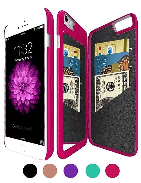 Funda tipo cartera con espejo para iPhone 6 para mujer ...