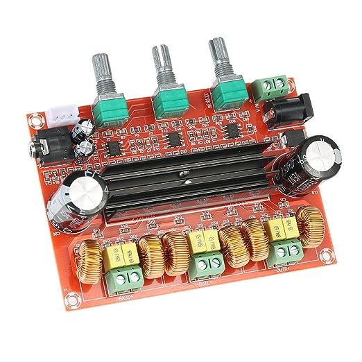 4 opinioni per KKmoon Amplificatore di Potenza Audio Scheda di amplificazione, TPA3116D2 50W *