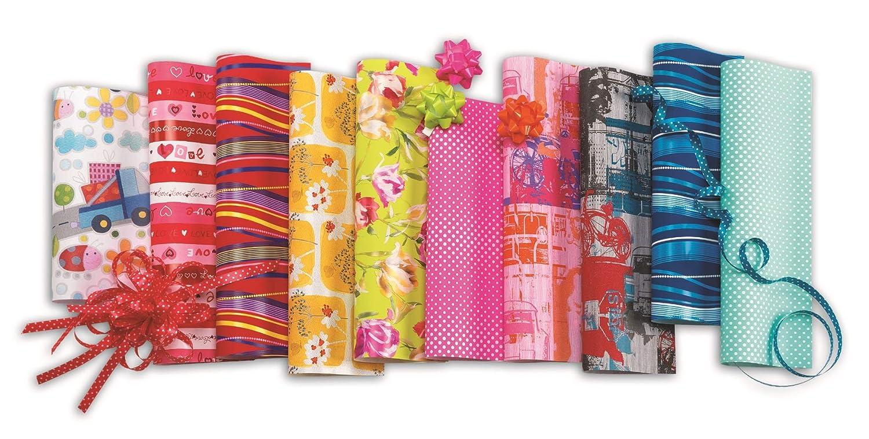 HRB 20 Rollen Geschenkpapier Everyday Mix Papier 2m x 0, 70m