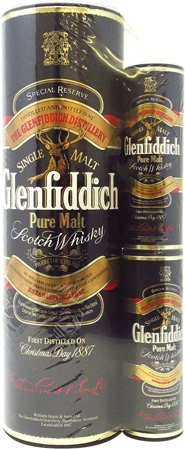 Glenfiddich - Special Reserve With 2 x 5cl Miniatures Blister Pack ...