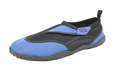 b293323c196cd Nalu Surf Design Adults/Childs Beach Aqua Shoes with Hook and Loop Fastening
