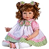 """Adora Toddler Tutti Fruity 20"""" Girl Weighted Doll Gift Set for Children 6+ Huggable Vinyl Cuddly Snuggle Soft Body Toy"""