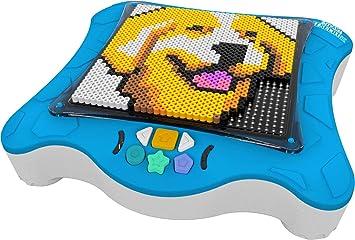 Smart Pixelator - Proyector con Pixel Beads, para Niños y Niñas a Partir de 6 Años, Multicolor (Famosa 700015417)