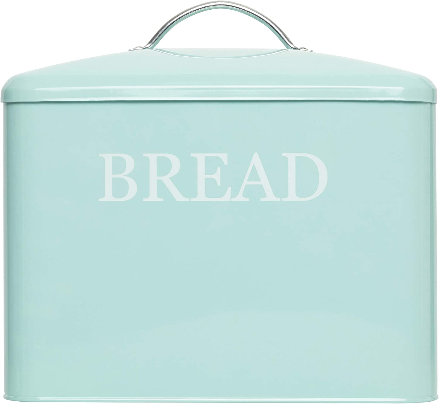 Extra Large Bread Box Teal - Bread Boxes For Kitchen Counter Holds 2+ Loaves For All Your Bread Storage | Bread Container Counter Organizer To Suit Farmhouse Kitchen Decor, Vintage Kitchen, Rustic