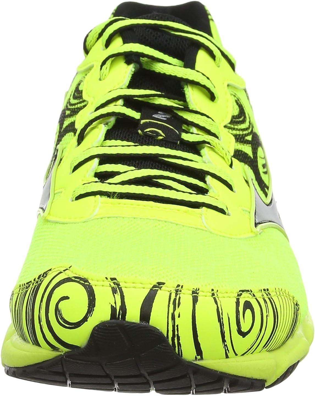 Mizuno Wave Hitogami - Zapatillas de Running de sintético para Hombre, Color Amarillo, Talla 39: Amazon.es: Zapatos y complementos