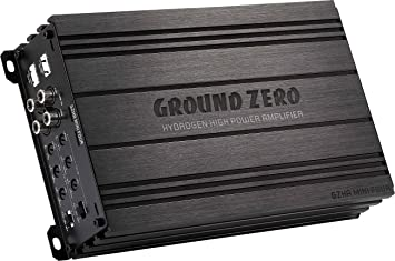 Ground Zero GZHA Mini Four Amplificador de 4 canales Amplificador Class AB
