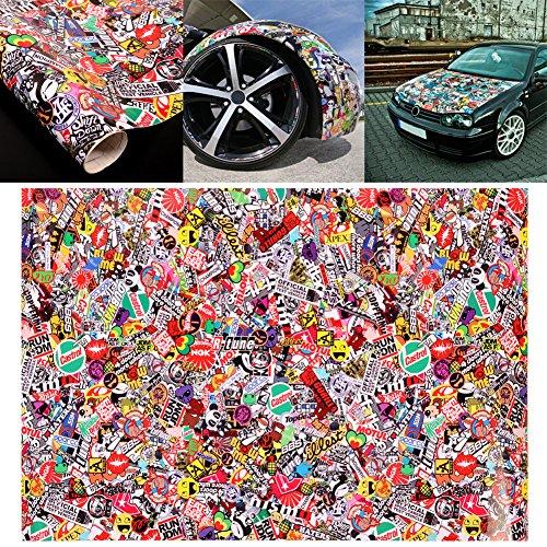 Soledi Graffiti Cartoon JDM Bomb Car Auto Vehicle Motorcycle Bike Wrap Decor Laptop Phone Guitar Decoration 20