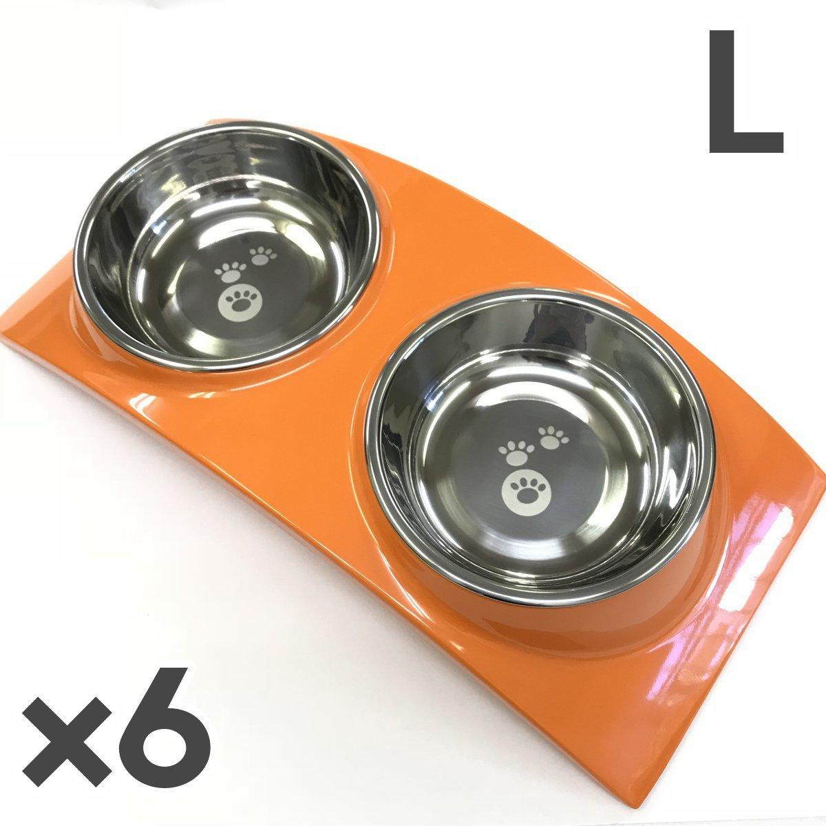 本物品質の トムキャット [食器]レインボー オレンジ×6入 ディナーセット ディナーセット L トムキャット オレンジ×6入 B076Q5YBG7, オンガグン:553bc38e --- beyonddefeat.com