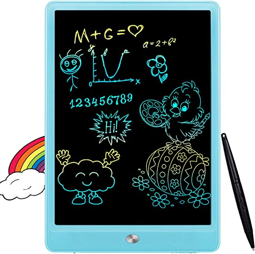 Amazon.com: FLUESTON LCD Writing Tablet 10 Inch Drawing Pad, Colorful Screen Doodle and Scribbler Boards for Kids Learning, The Best Gifts for Kids Ages 2+: Toys & Games