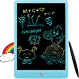 FLUESTON LCD Writing Tablet 10 Inch Drawing Pad, Colorful Screen Doodle Board for Kids, Traveling Gift Toys for 2 3 4 5 6 Yea