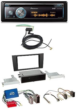Pioneer DEH-X8700DAB Bluetooth DAB MP3 USB CD Radio de coche para Audi A4 B5 99 - 01 Symphony Sistema activo: Amazon.es: Electrónica