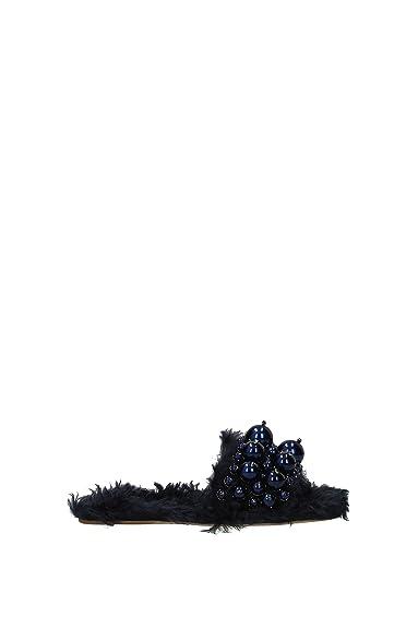 a5149b97348 Miu Miu Slippers and Clogs Women - Eco Fur (5XX115ECOSHEARLING3) UK ...