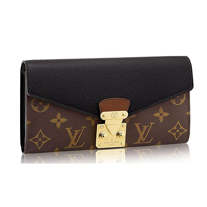 Amazon.com: Louis VUITTON Monogram lona Pallas cartera ...