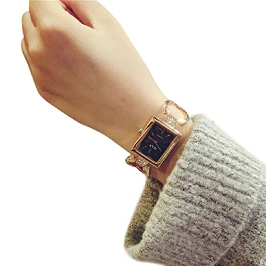 Women Watch, Lookatool Fashion Female Bracelet Rectangular Fashion Temperament Watch