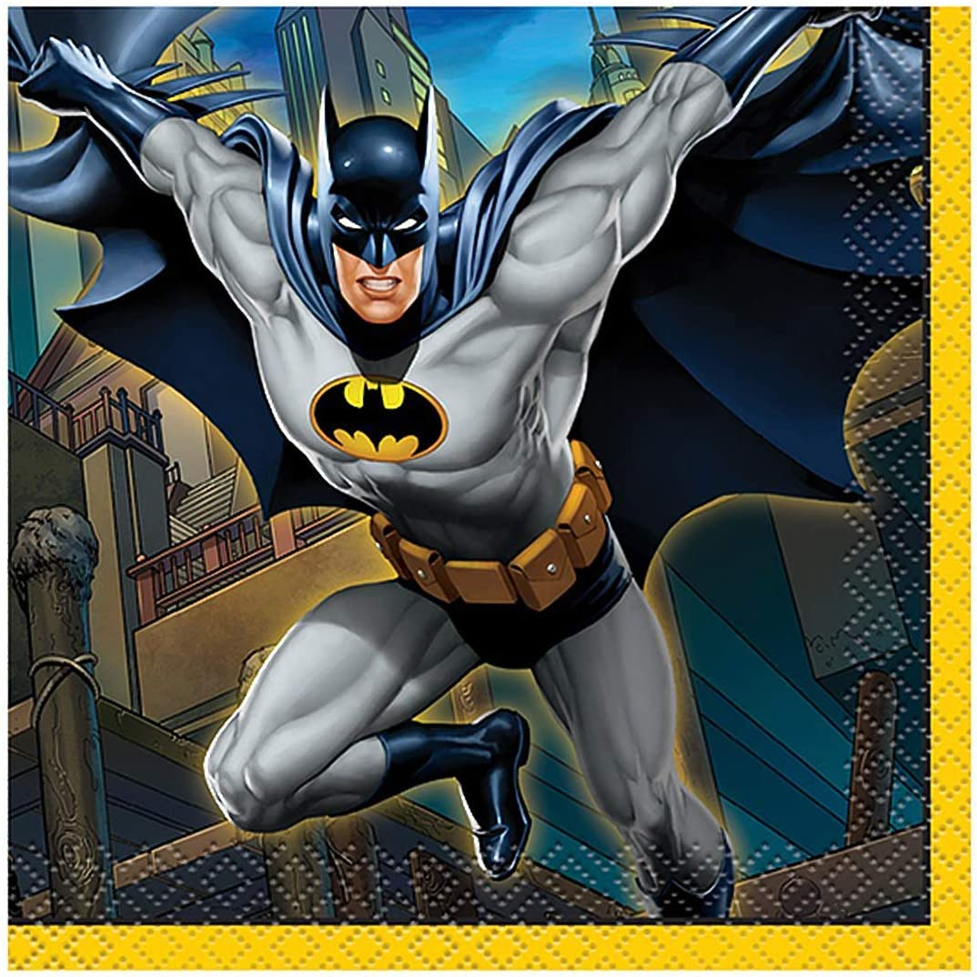 Batman Beverage Napkins, 16ct