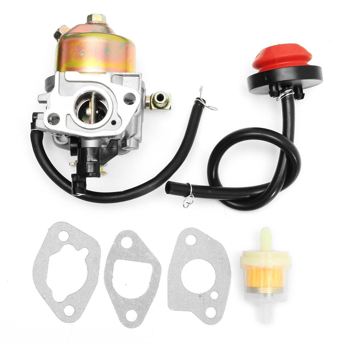 ILS - Snowblower Carburetor W/ Gasket Pirmer For HUAYI 170S 170SA 165S 165SA Carb I LOVE SHOPPING